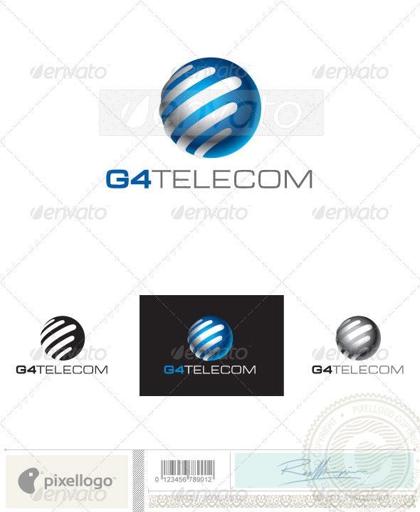 Communication Logo - 2416 - Vector Abstract