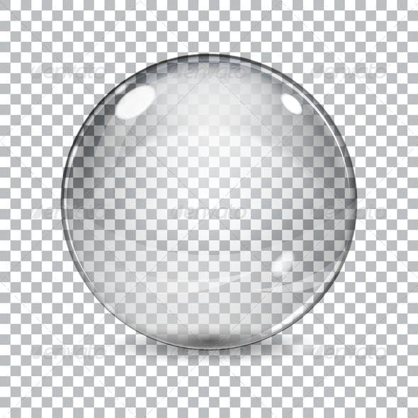 Transparent Glass Sphere