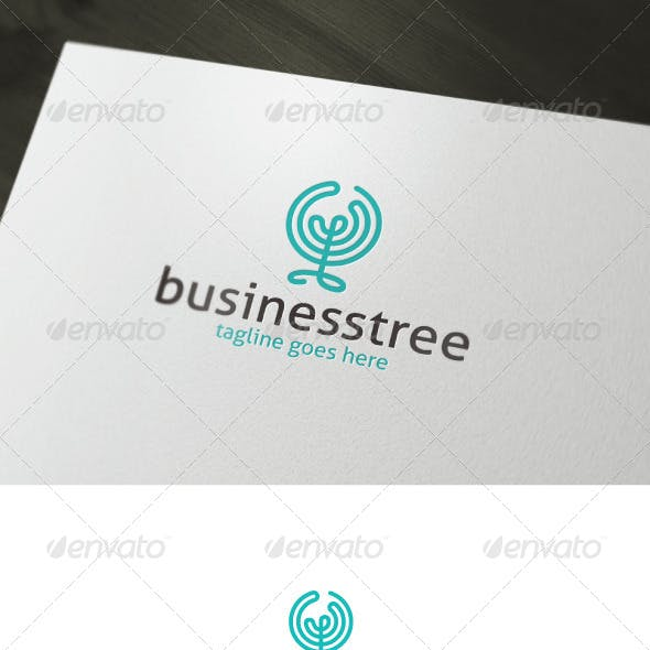 Business Tree Logo