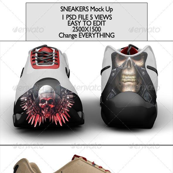 Sneakers Mock-up