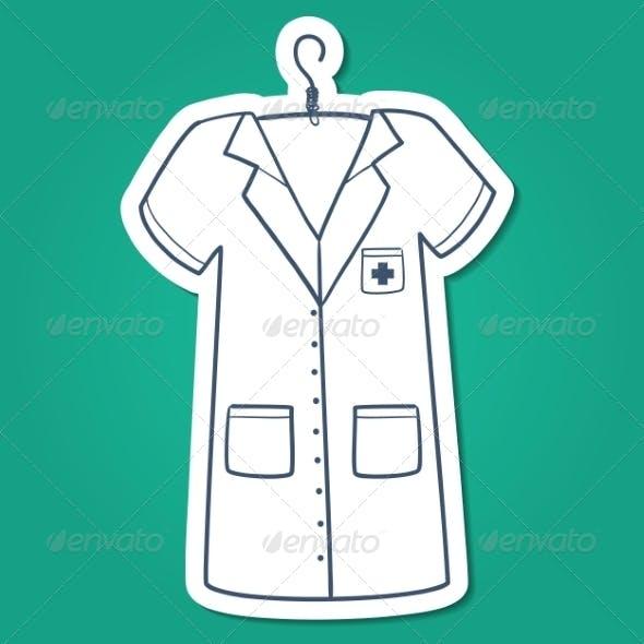 Nurse, Doctor or Other Medical Staff Uniform