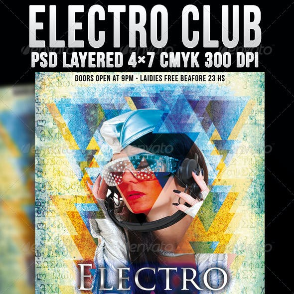 Electro Club Template
