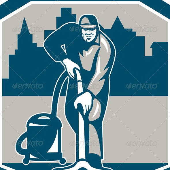 Janitor Cleaner Vacuum Carpet Cleaning Shield
