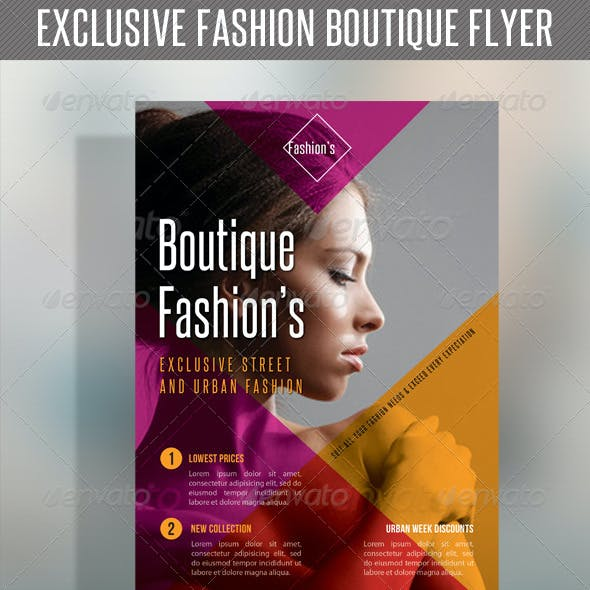 Fashion Product Flyer 46
