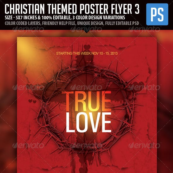 Church/Christian Themed Poster/Flyer Vol.2