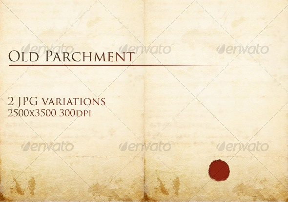 Old Parchment - Industrial / Grunge Textures
