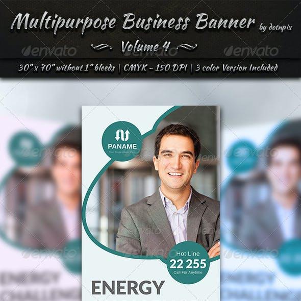 Multipurpose Business Banner | Volume 4