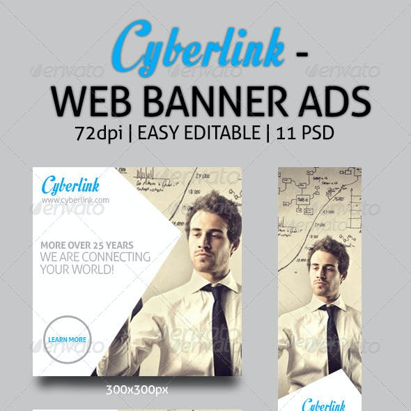 Cyberlink - Web Banner Ads