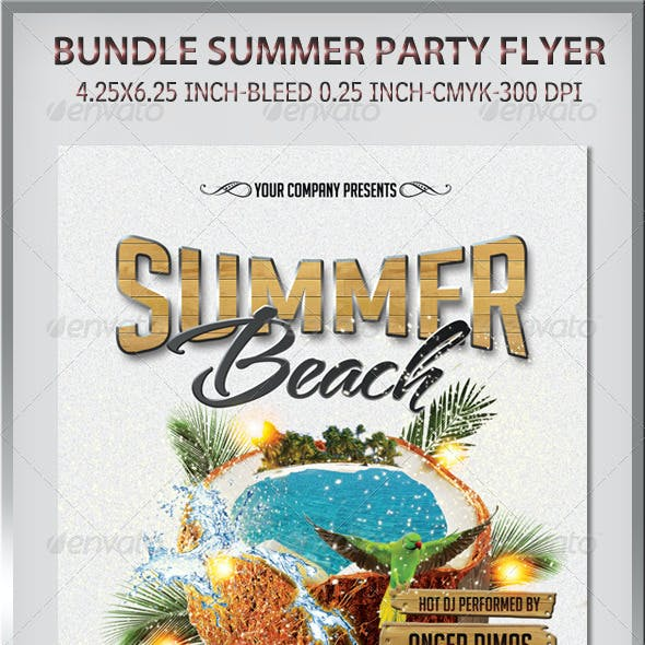 Bundle Summer Party Flyer