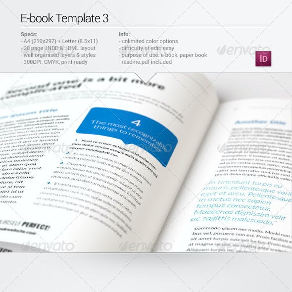 E-Publishing & Digital Publishing Templates from GraphicRiver