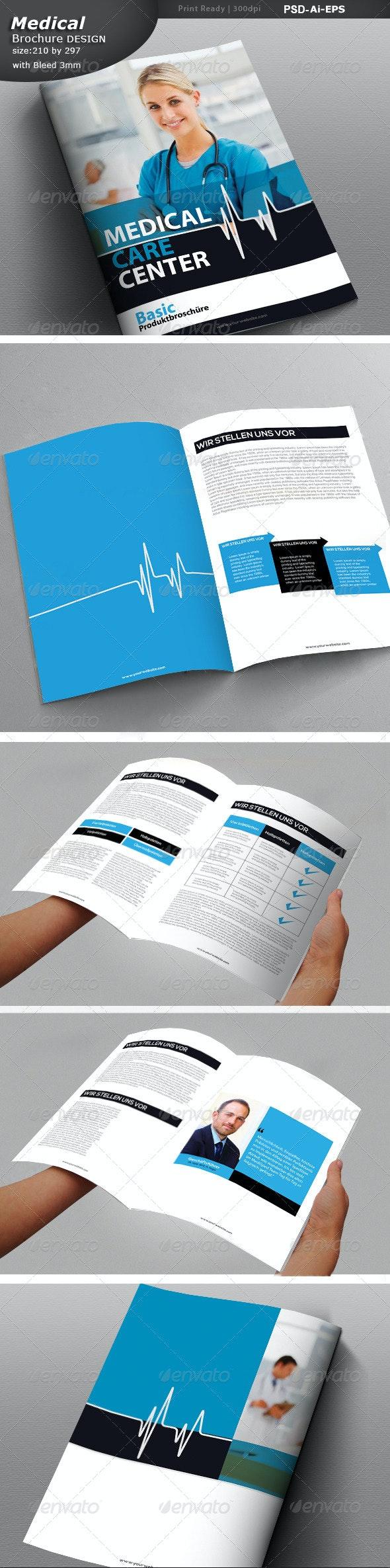 Medical Center Brochure Design  - Print Templates