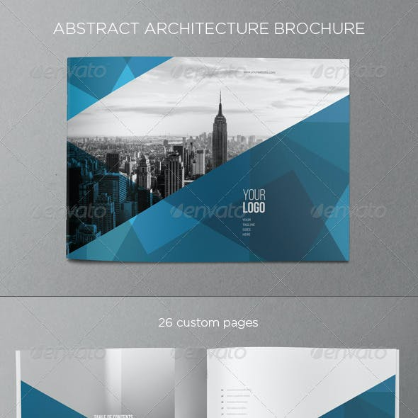 Abstract Architecture Brochure