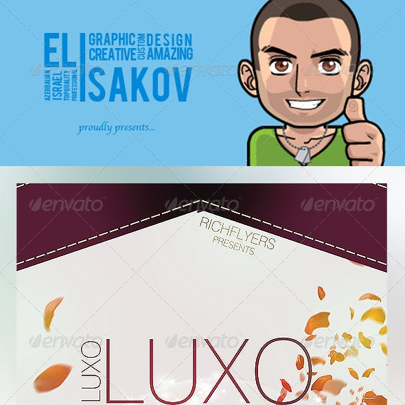 Luxo - Premium Party Flyer