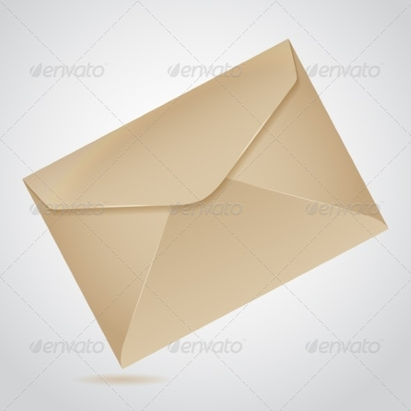 Envelope of Brown Paper - Concepts Business