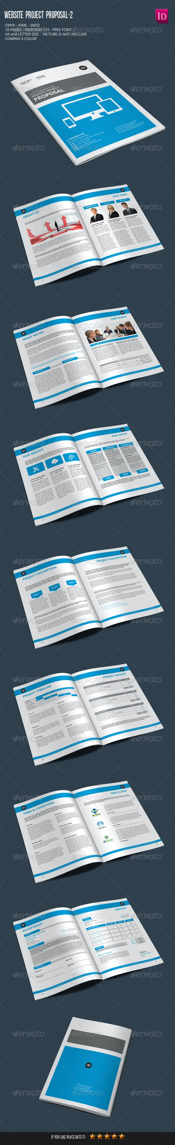 Website Project Proposal-2 - Proposals & Invoices Stationery