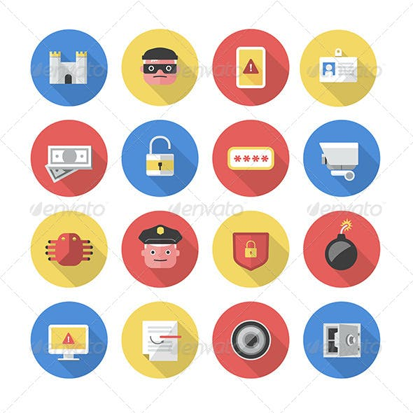 Security - Flat Icons