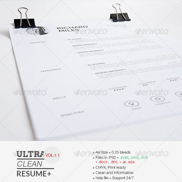 Ultra Clean Resume