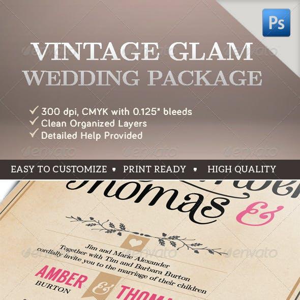 Vintage Glam Wedding Package