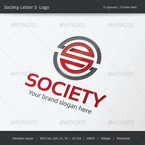 Society Letter S Logo