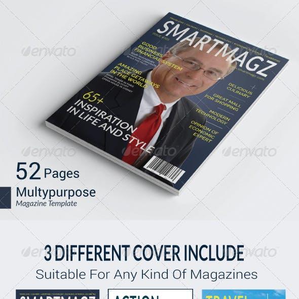 Universal Magazine Template