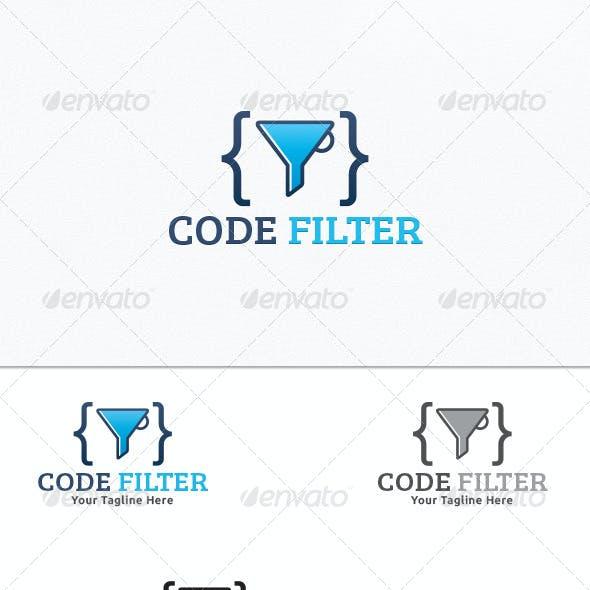 Code Filter - Logo Template