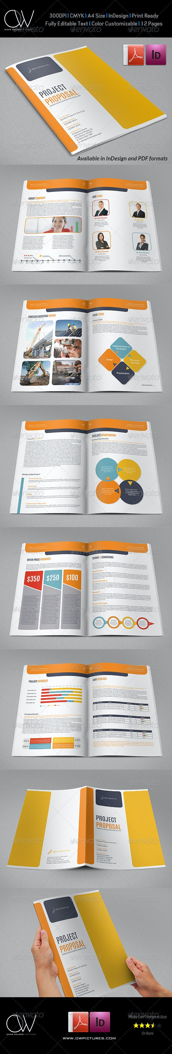 Company Proposal Template Vol.2 - Proposals & Invoices Stationery