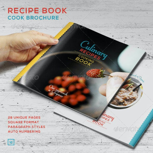 Recipe Book - Cook Brochure