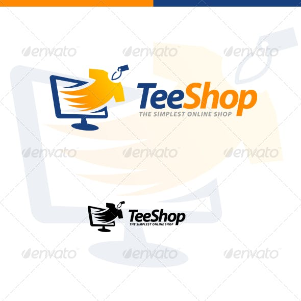 TeeShop - Retail, Online Shop & Apparel Store Logo