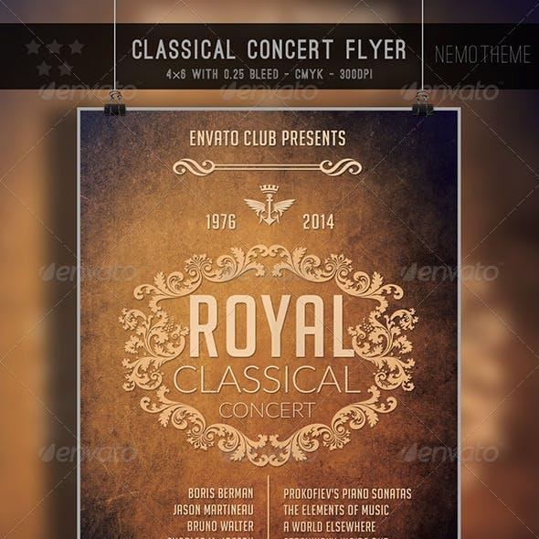 Classical Conert Flyer