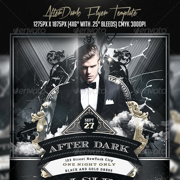 AfterDark Flyer Template
