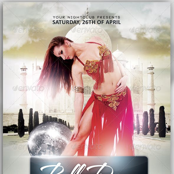 Belly Dance Flyer