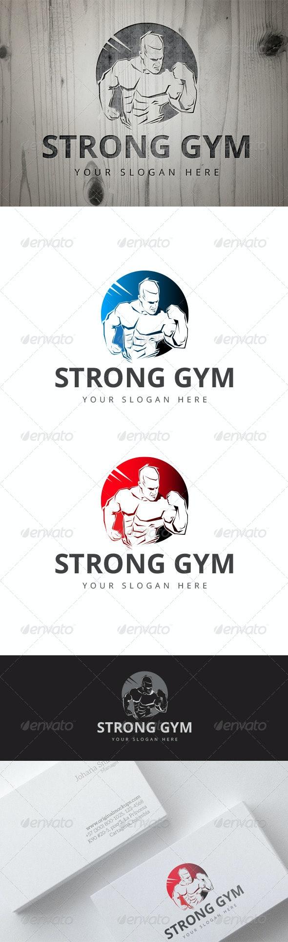 Strong Gym Logo - Logo Templates