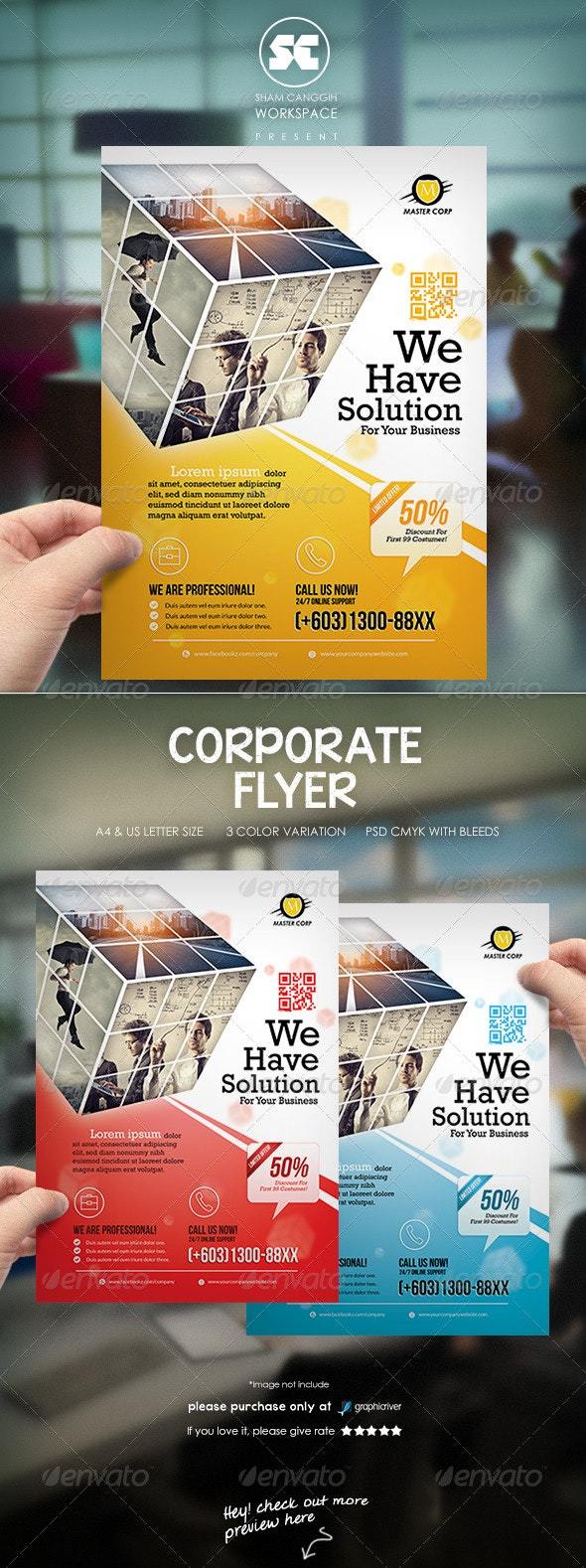 Clean Corporate Flyer / Magazine Ads - Corporate Flyers