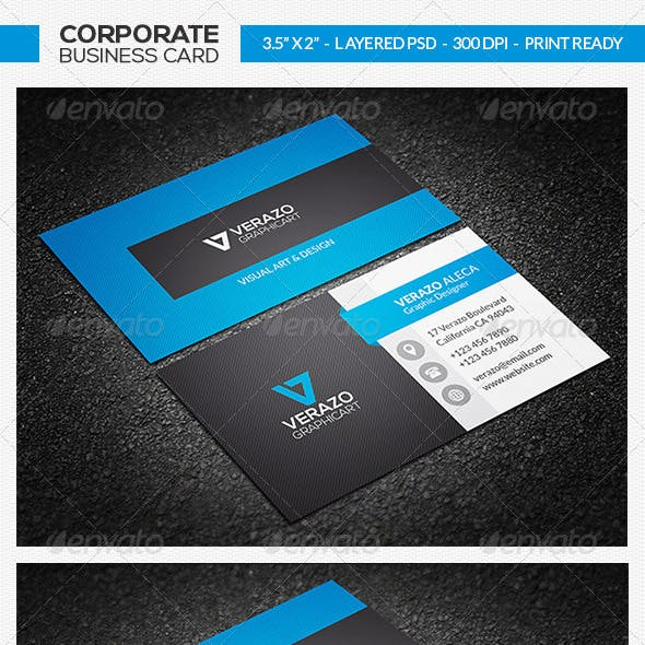 Corporate Business Card 22