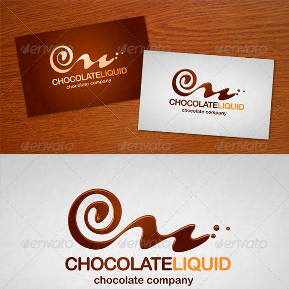 Chocolate Liquid Logo