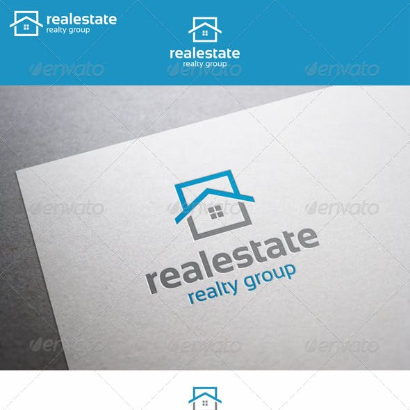 Real Estate Logo - Realty Group