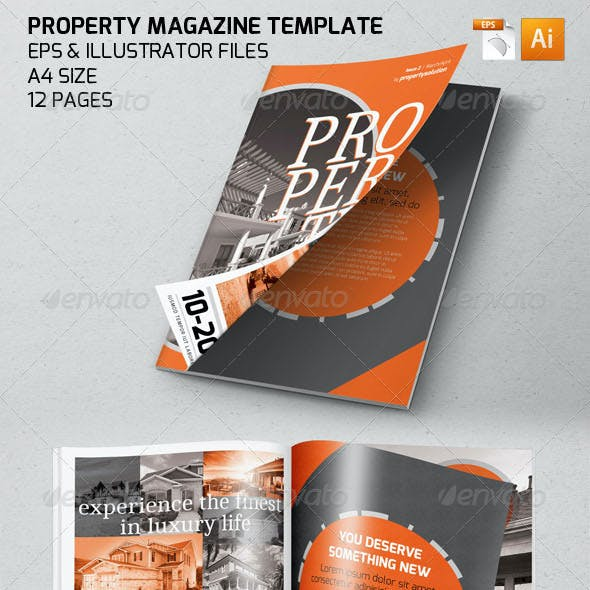 Property Magazine Template