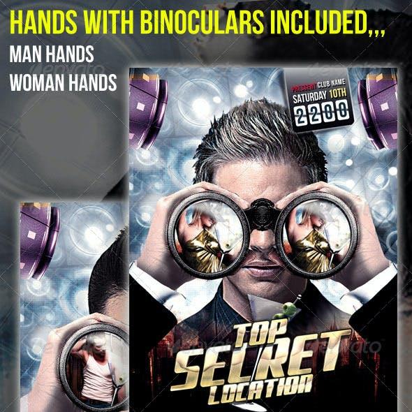 Top Secret Party Flyer