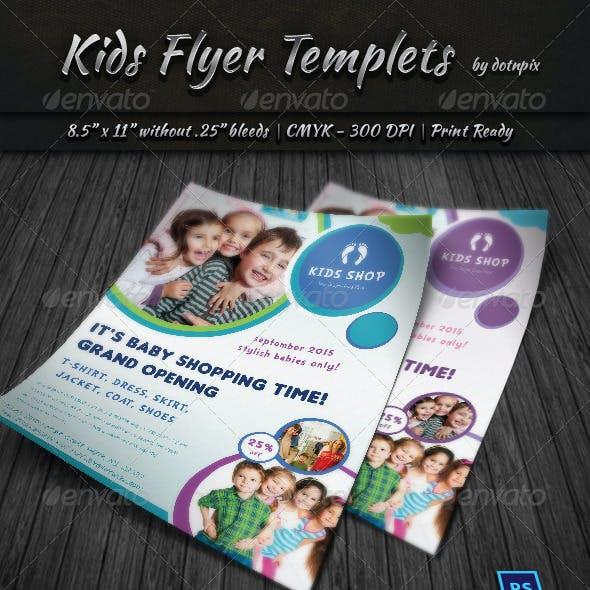 Kids Flyer Templets