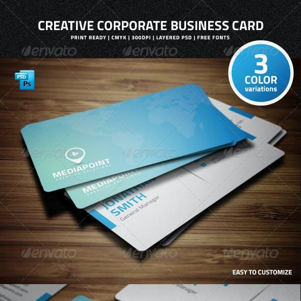 Creative Corporate Business Card - 34