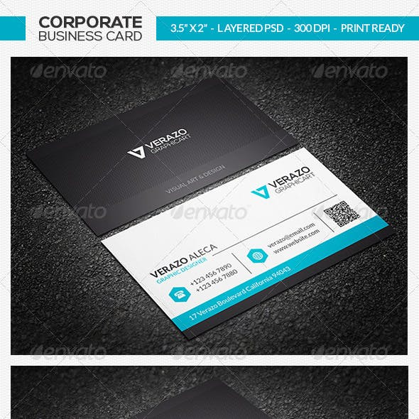 Clean Business Card 23
