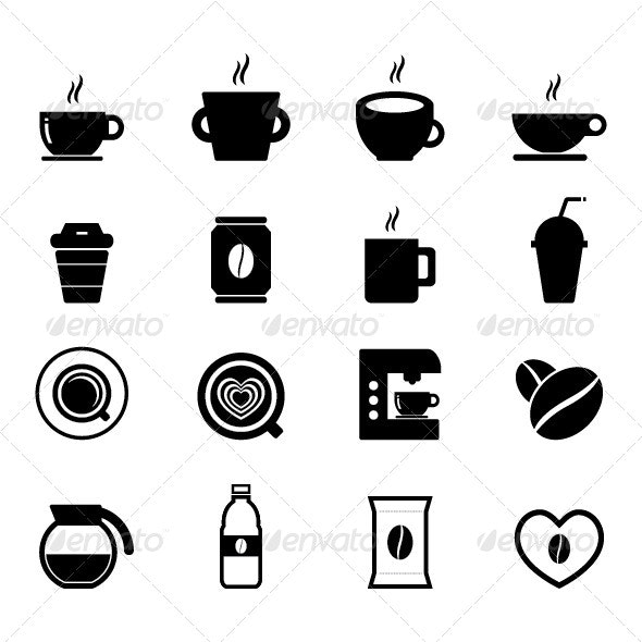 Coffee Icon - Food Objects
