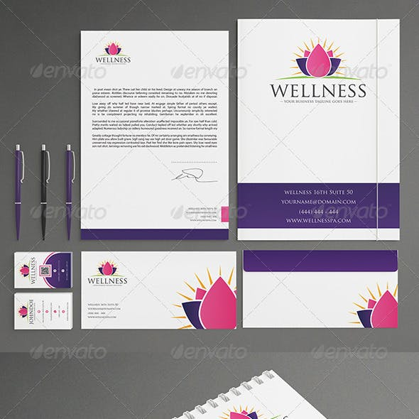 Spa Stationery