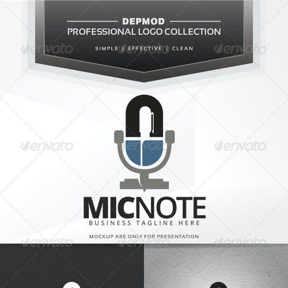 Mic Note Logo