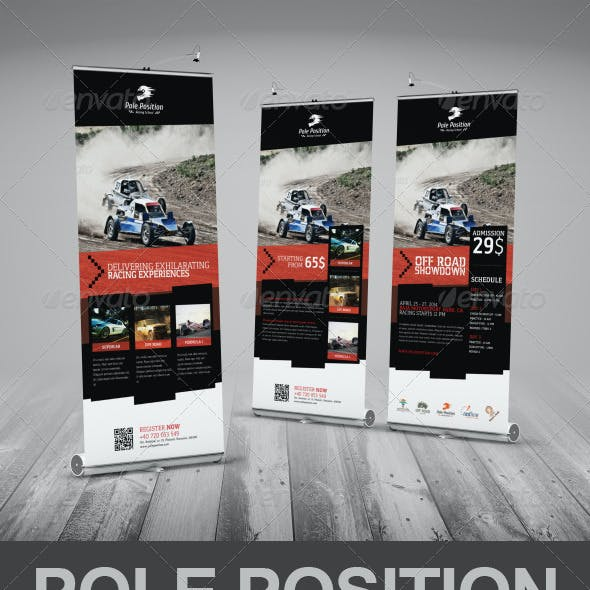 Racing School Roll-Up Banner