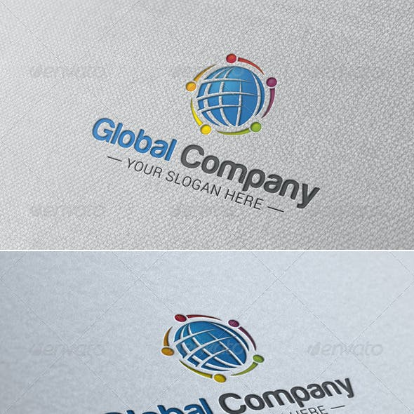 Global Company Logo Template