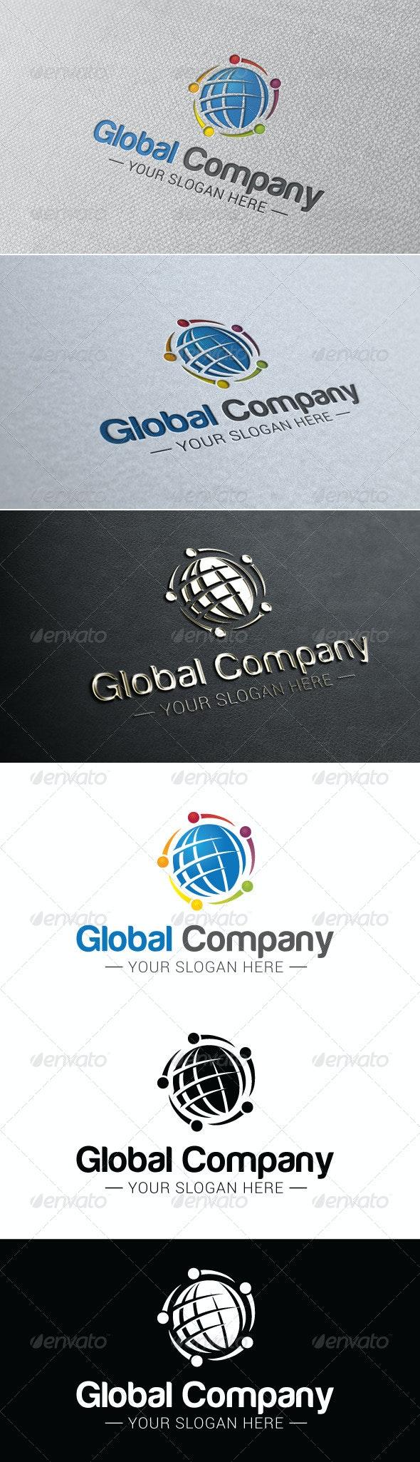 Global Company Logo Template - Company Logo Templates