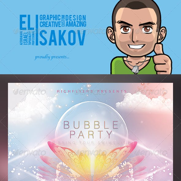 Bubble Party - Premium Party Flyer