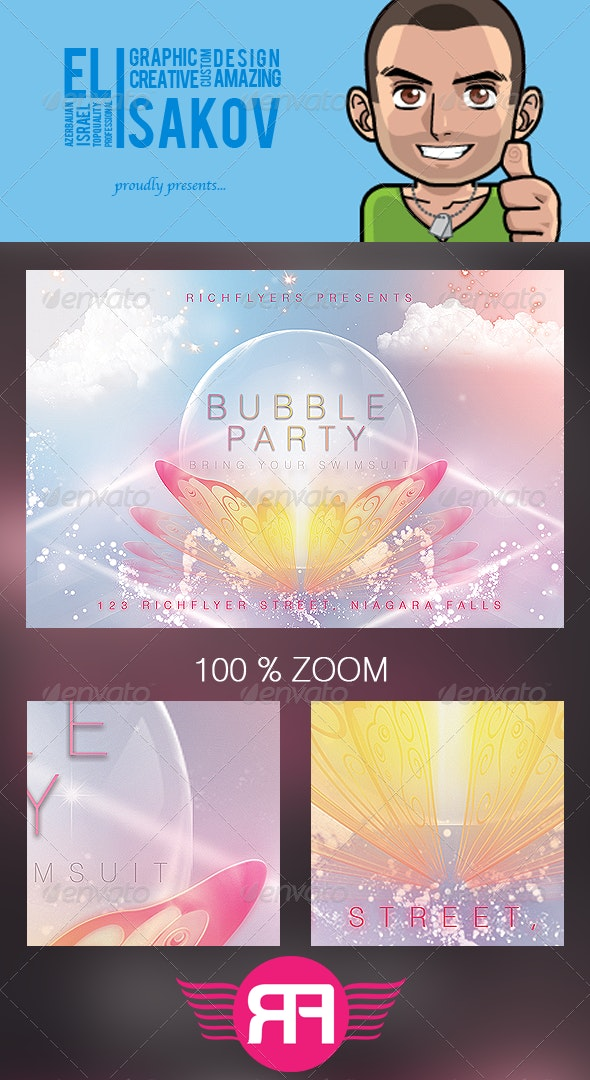 Bubble Party - Premium Party Flyer - Clubs & Parties Events