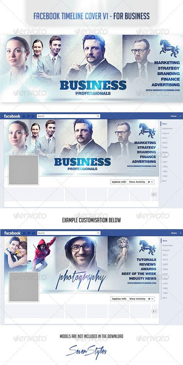 Facebook Timeline Cover v1-  For Business - Facebook Timeline Covers Social Media